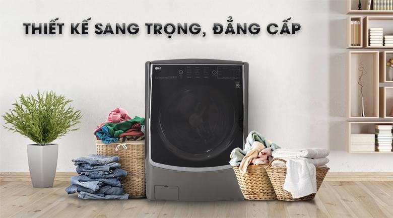 Máy giặt sấy LG Inverter 21 kg F2721HTTV