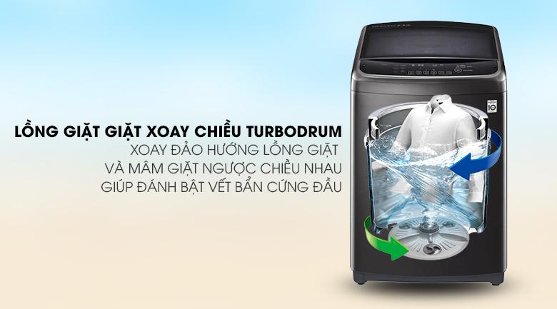 Lồng giặt Turbo drum - Máy giặt LG Inverter 22 kg TH2722SSAK