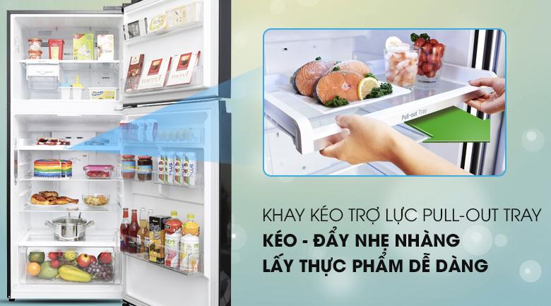 Tủ lạnh LG Inverter 393 lít GN-L422GB - Pull Out Tray