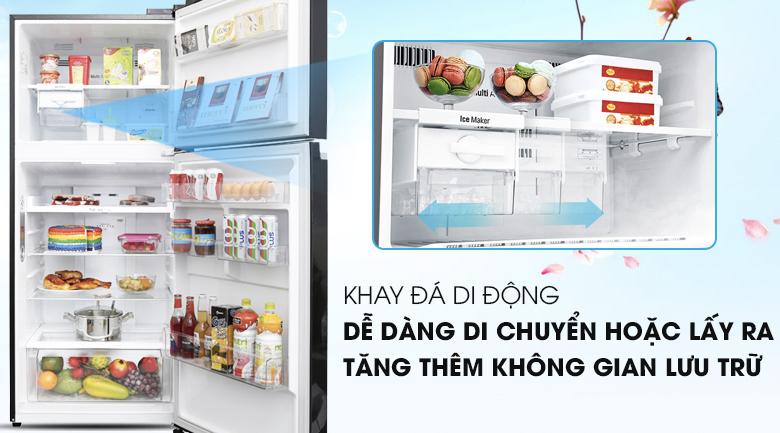 Khay đá di động - Tủ lạnh LG Inverter 393 lít GN-L422GB