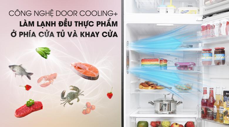 Door Cooling+ - Tủ lạnh LG Inverter 393 lít GN-L422GB