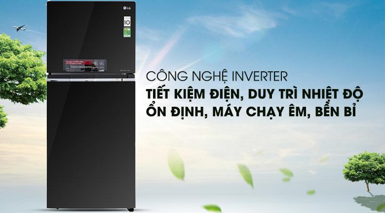 Công nghệ Inverter - Tủ lạnh LG Inverter 393 lít GN-L422GB