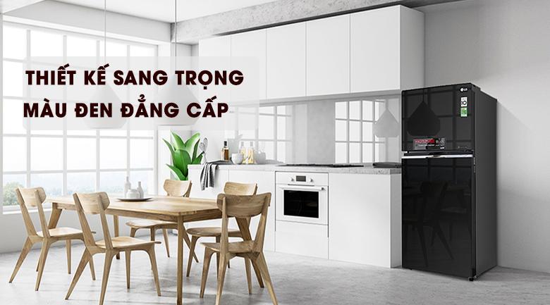 Thiết kế - Tủ lạnh LG Inverter 393 lít GN-L422GB