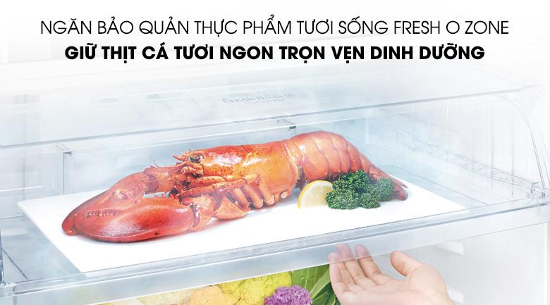 Ngăn chứa Fresh O Zone bảo quản thực phẩm tươi