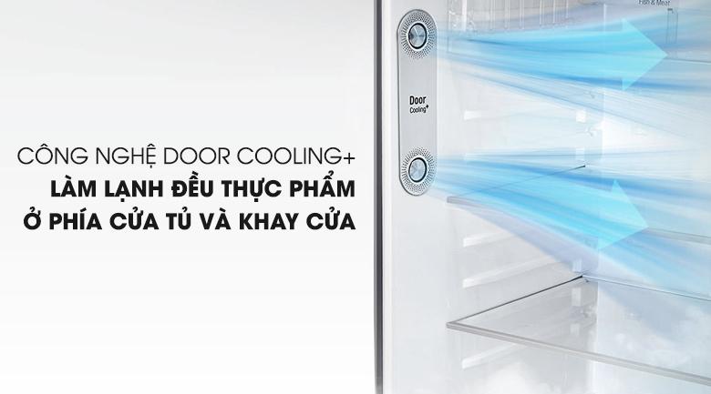Công nghệ làm lạnh từ cửa tủ DoorCooling+