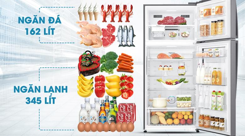 Tủ lạnh LG Inverter 512 lít GN-L702SD hình 11