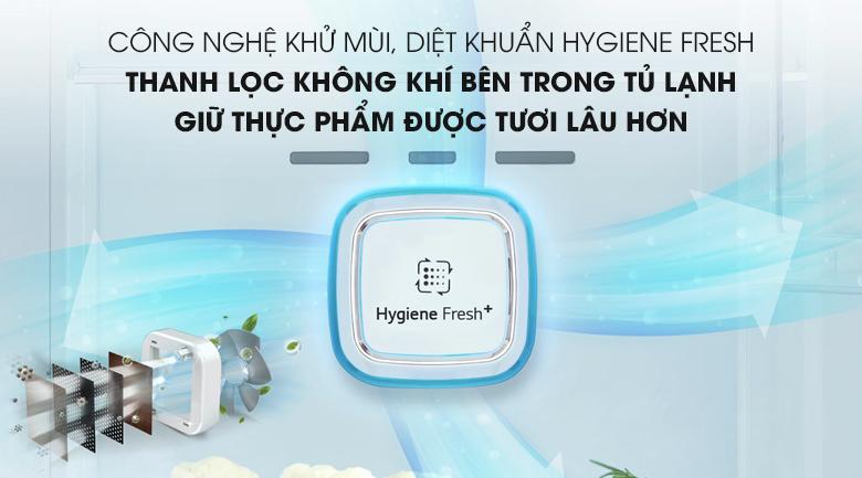 Công nghệ kháng khuẩn khử mùi Hygiene Fresh+ - Tủ lạnh LG Inverter 601 lít GR-D247JS