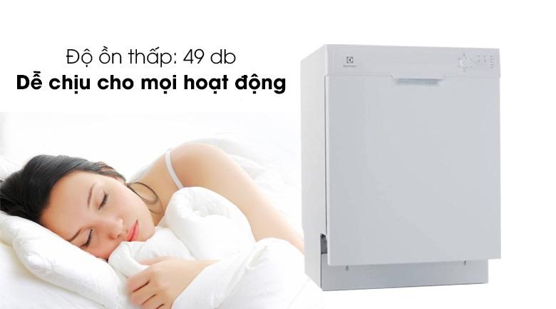 Vận hành cực êm, mang đến sự dễ chịu nhất cho người dùng - Máy rửa bát Electrolux ESF5206LOW 1950W