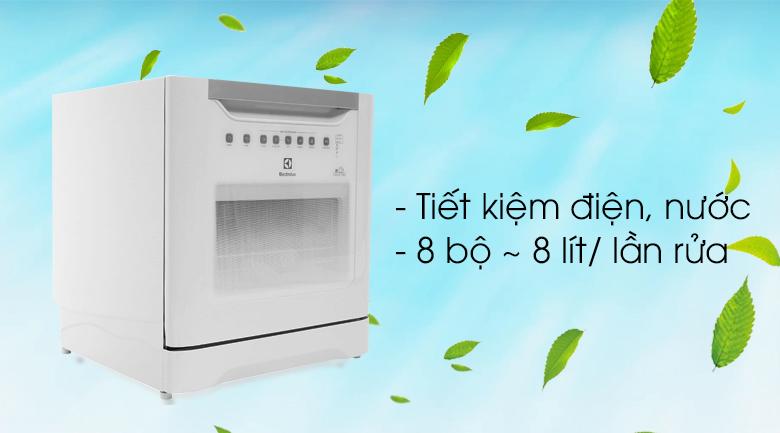 Máy rửa chén Electrolux ESF6010BW 1480W - Tiết kiệm nước
