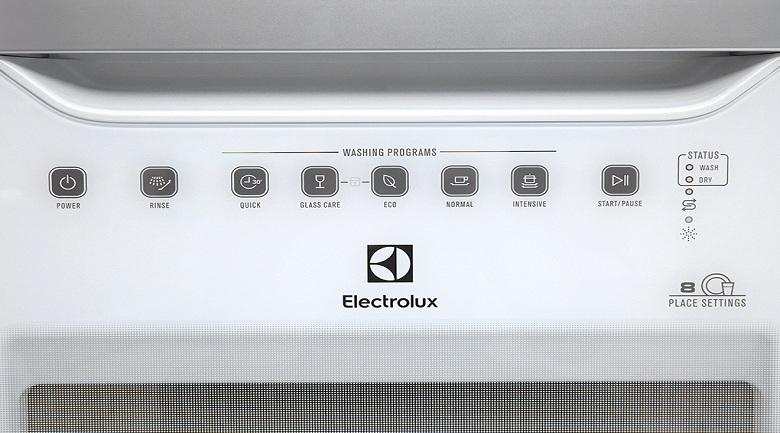 Máy rửa chén Electrolux ESF6010BW 1480W - Bảng điều khiển